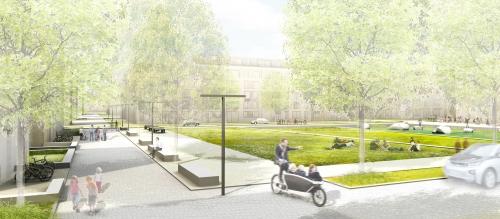 Am Quartierspark, © Stadt Land Fluss, bgmr Landschaftsarchitekten, ISSSresearch&architecture