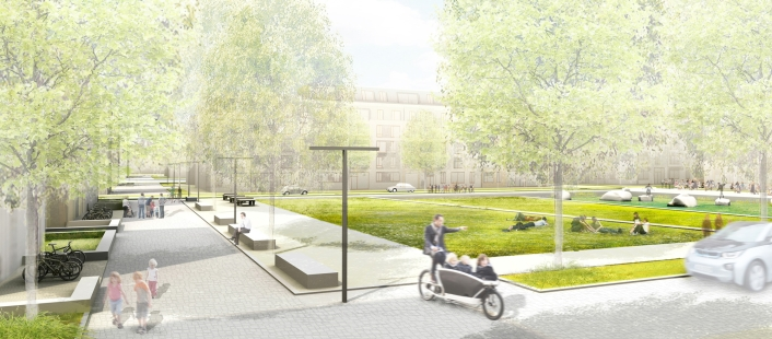 Am Quartierspark, © Stadt Land Fluss, bgmr Landschaftsarchitekten, ISSSresearch&architecture